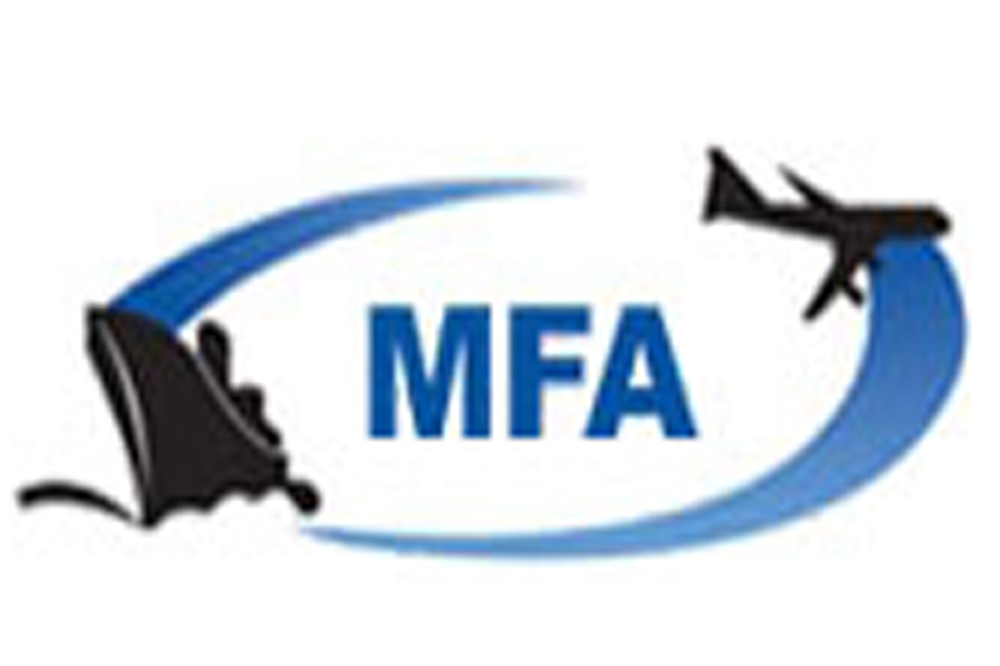 MFA Logo for Freight Forwarder and Brokerage. Manila, Philippines.