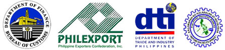 DFA Logo for Freight Forwarder and Brokerage. Manila, Philippines.